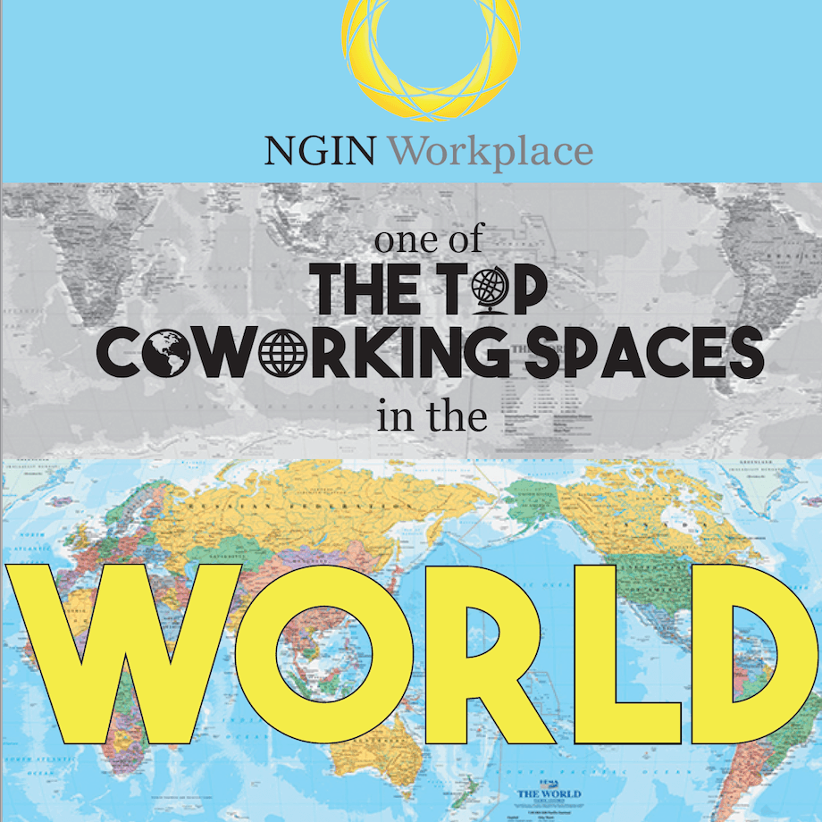 NGIN Workplace one of the top cowering spaces in the world