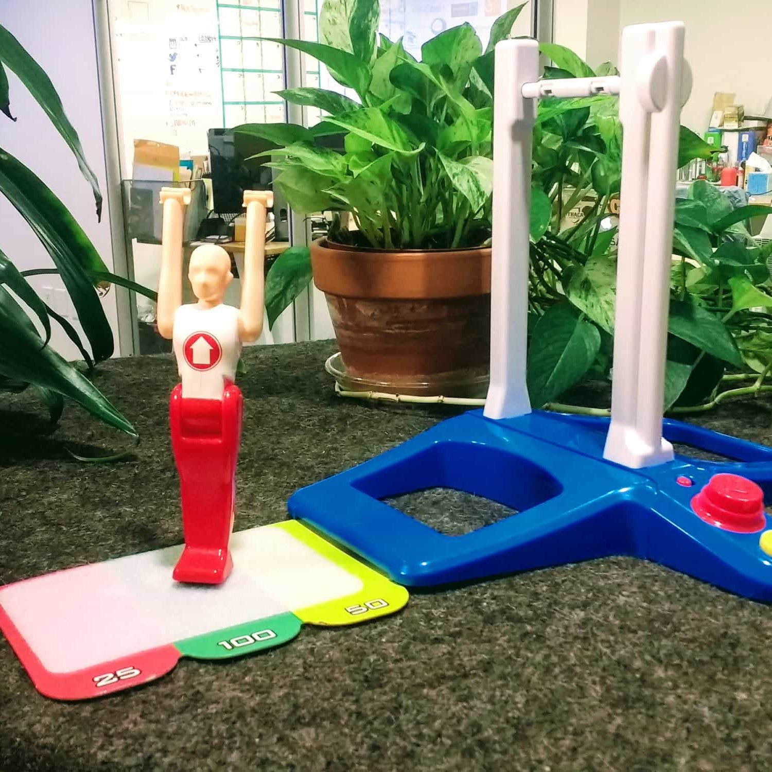 Fantastic gymnastics at NGIN coworking workplace
