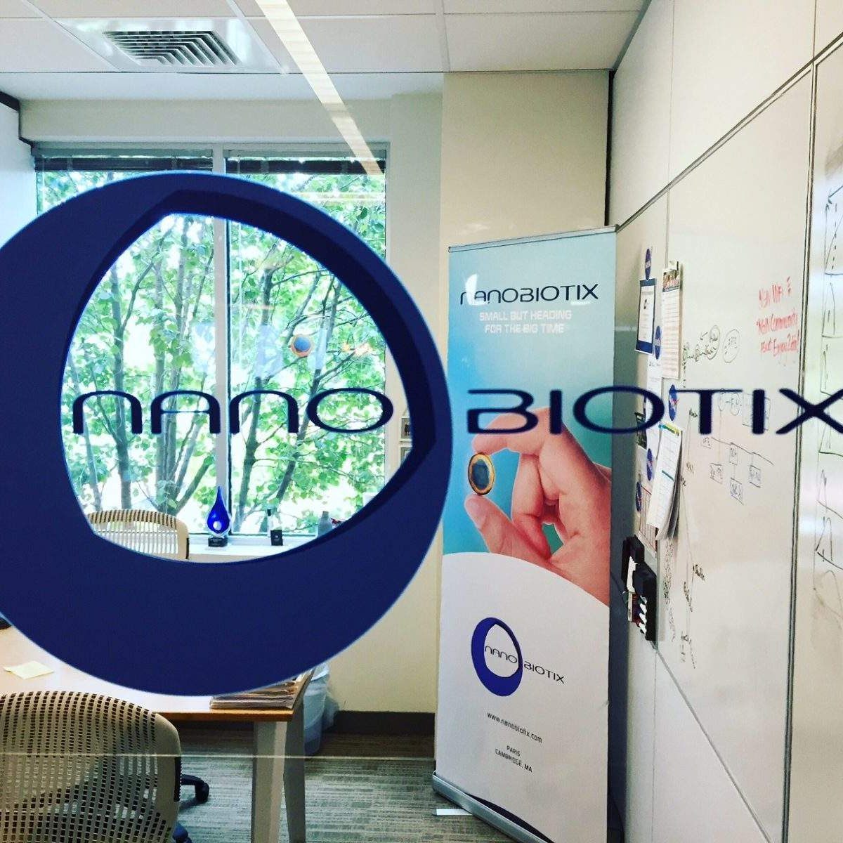 Shared office space Nanobiotix NGIN Workplace office
